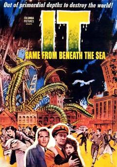 Best Adventure Movies of 1955 : It Came from Beneath the Sea