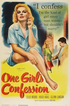 Best Drama Movies of 1953 : One Girl's Confession