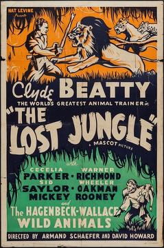 Best Science Fiction Movies of 1934 : The Lost Jungle