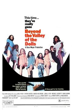 Best Comedy Movies of 1970 : Beyond the Valley of the Dolls