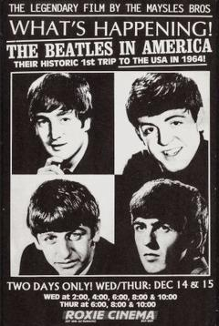 Best Music Movies of 1964 : What's Happening! The Beatles in the U.S.A.