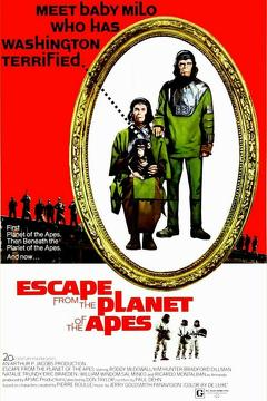 Best Action Movies of 1971 : Escape from the Planet of the Apes
