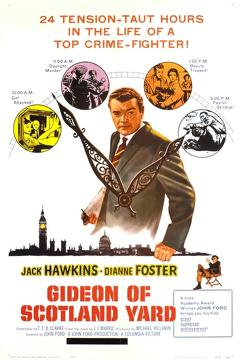 Best Crime Movies of 1958 : Gideon of Scotland Yard