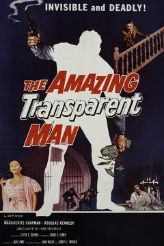 Best Science Fiction Movies of 1960 : The Amazing Transparent Man