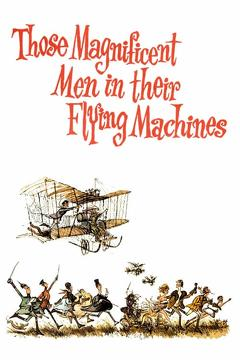 Best Comedy Movies of 1965 : Those Magnificent Men in Their Flying Machines or How I Flew from London to Paris in 25 hours 11 minutes