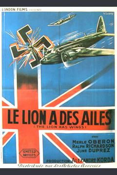 Best Documentary Movies of 1939 : The Lion Has Wings