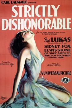 Best Drama Movies of 1931 : Strictly Dishonorable