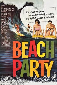 Best Music Movies of 1963 : Beach Party
