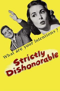 Best Romance Movies of 1951 : Strictly Dishonorable