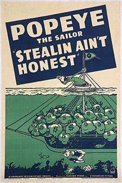 Best Animation Movies of 1940 : Stealin Ain't Honest