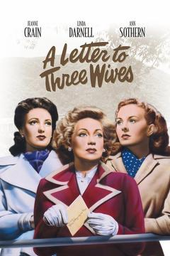 Best Drama Movies of 1949 : A Letter to Three Wives