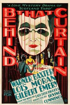 Best Mystery Movies of 1929 : Behind That Curtain