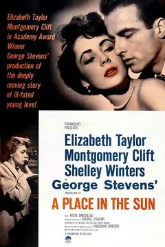 Best Romance Movies of 1951 : A Place in the Sun