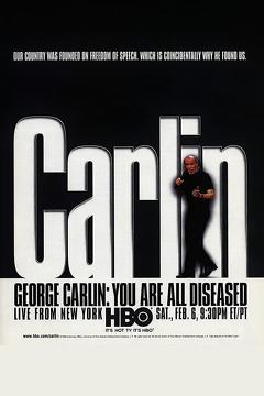 Best Documentary Movies of 1999 : George Carlin: You Are All Diseased