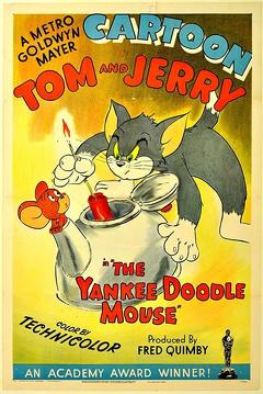 Best Animation Movies of 1943 : The Yankee Doodle Mouse