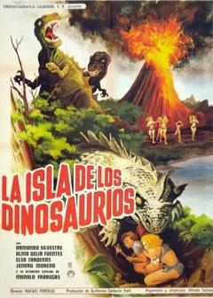 Best Science Fiction Movies of 1967 : The Island of the Dinosaurs