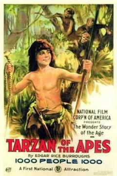 Best Adventure Movies of 1918 : Tarzan of the Apes