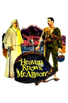 Best War Movies of 1957 : Heaven Knows, Mr. Allison