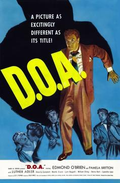 Best Mystery Movies of 1950 : D.O.A.