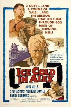 Best Drama Movies of 1958 : Ice Cold in Alex