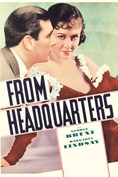Best Mystery Movies of 1933 : From Headquarters