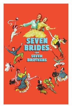 Best Western Movies of 1954 : Seven Brides for Seven Brothers
