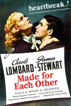 Best Comedy Movies of 1939 : Made for Each Other