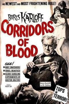 Best Thriller Movies of 1958 : Corridors of Blood