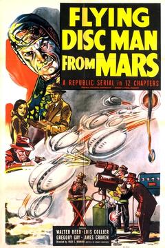 Best Science Fiction Movies of 1950 : Flying Disc Man from Mars