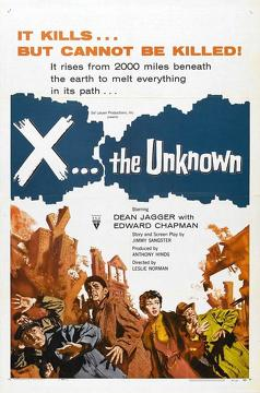 Best Horror Movies of 1956 : X: The Unknown