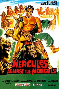 Best Action Movies of 1963 : Hercules Against the Mongols
