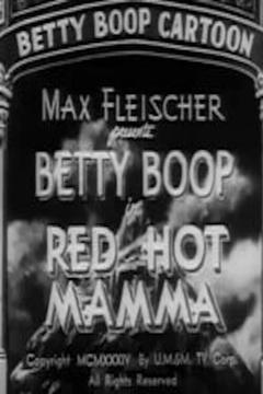 Best Animation Movies of 1934 : Red Hot Mamma