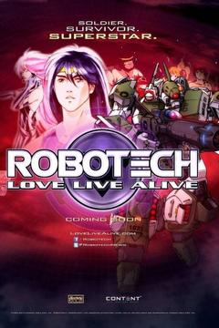 Best War Movies of 2013 : Robotech: Love Live Alive