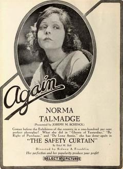 Best Romance Movies of 1918 : The Safety Curtain