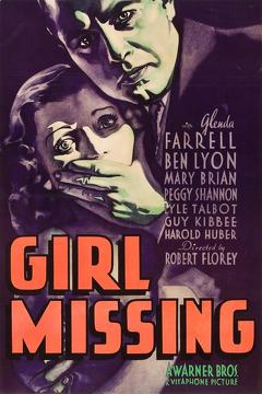 Best Mystery Movies of 1933 : Girl Missing