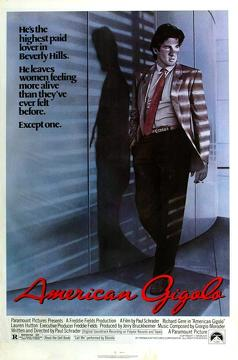 Best Crime Movies of 1980 : American Gigolo